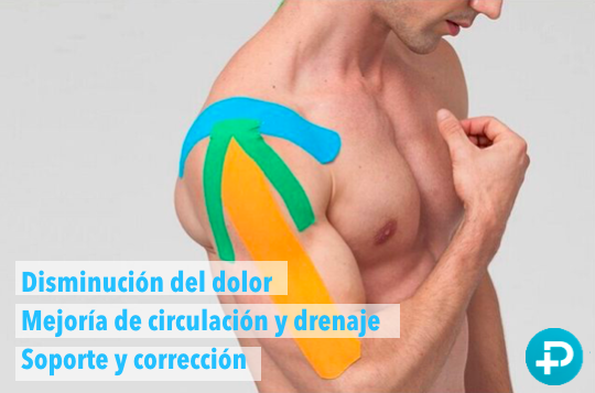 Beneficios cintas musculares kinesio tape