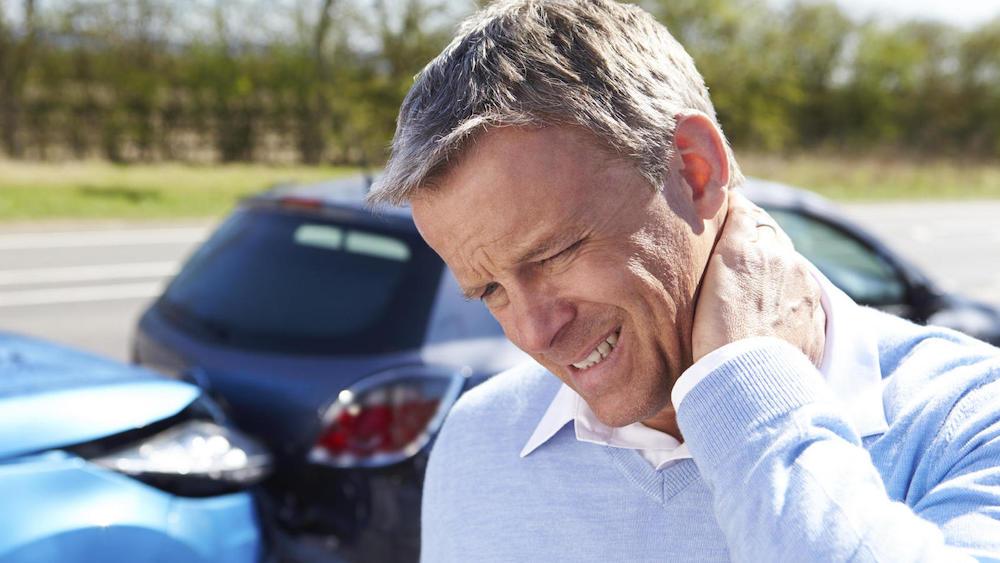 dolor cuello accidente coche