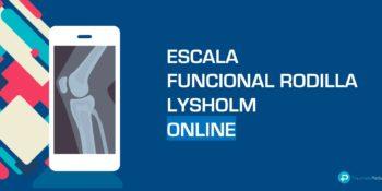 Escala funcional de rodilla Lysholm - Español Online