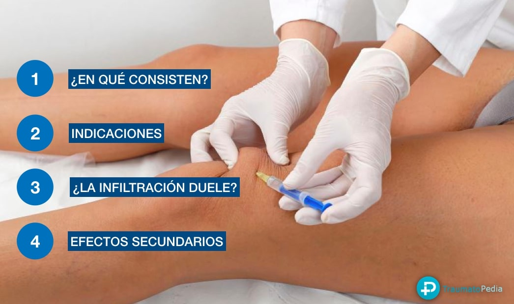 infiltración rodilla traumatologia