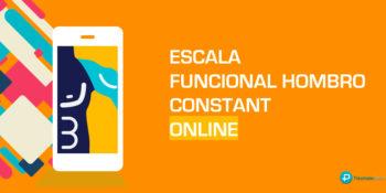 Escala funcional de Hombro Constant Score - Español Online