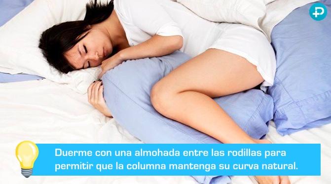 almohada para dormir con lumbago
