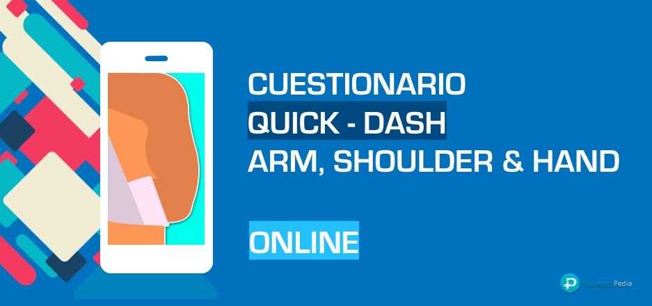 Cuestionario quick-dash online en castellano