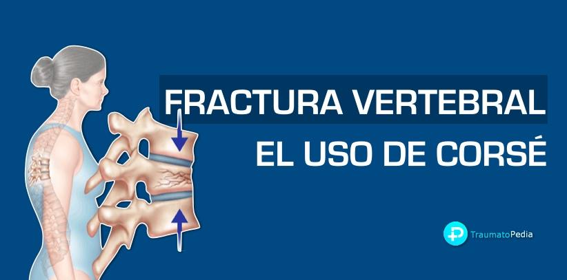 fractura vertebra corse