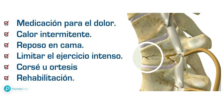 tratamiento vertebra aplastada osteoporosis