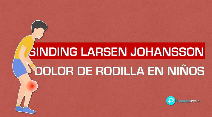 Sinding Larsen johansson dolor rodilla niños