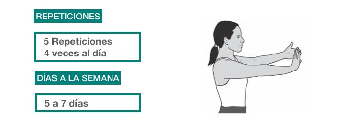 ejercicios rehabilitación epicondilitis_ extensión muñeca