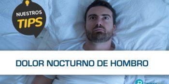 Cómo dormir cuando tienes dolor de hombro