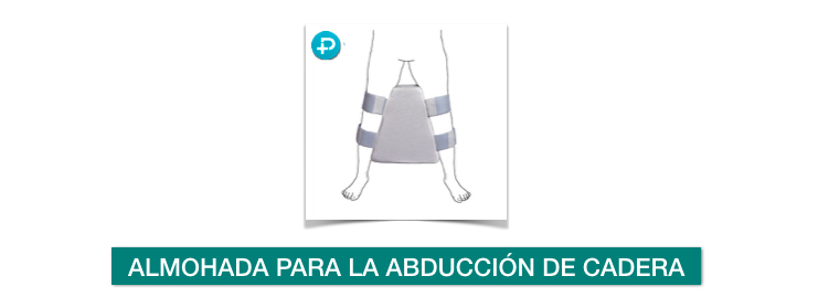 cojin almohada abducción recuperación protesis cadera