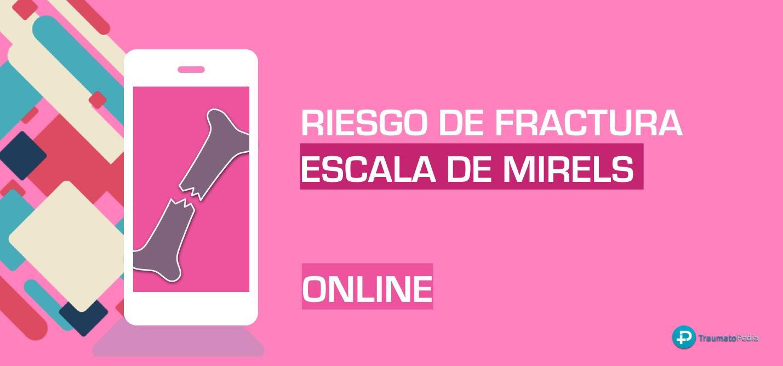 Calculadora escala score mirels online español