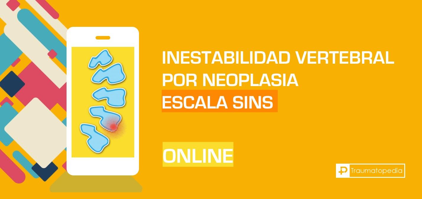 Escala SINS score - Calculadora español online