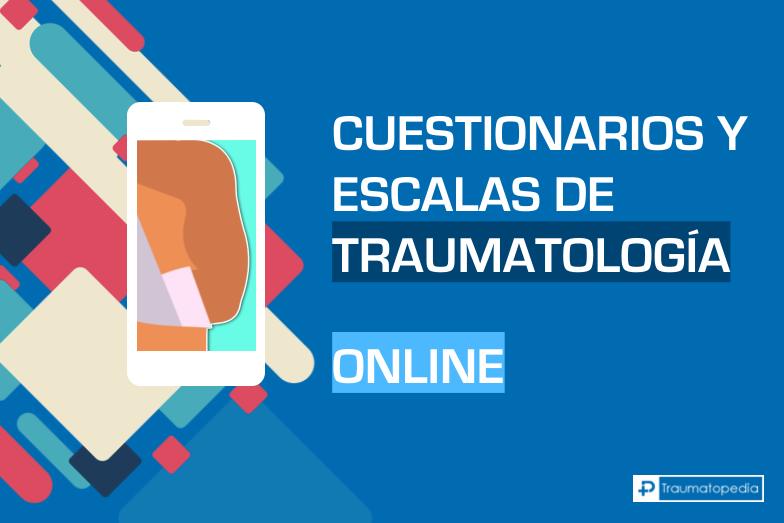 Escala de traumatología online