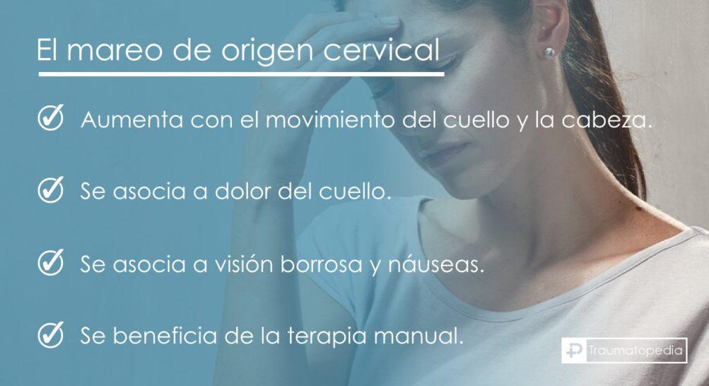 Mareos cervicales y vértigo